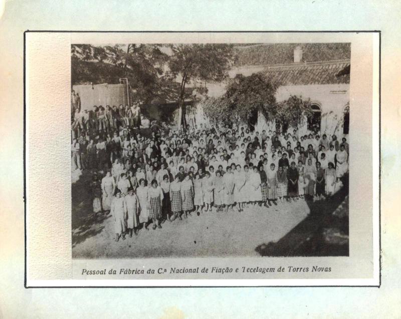 Female Workers in Companhia Nacional de Fiação e Tecidos at Torres Novas, Portugal