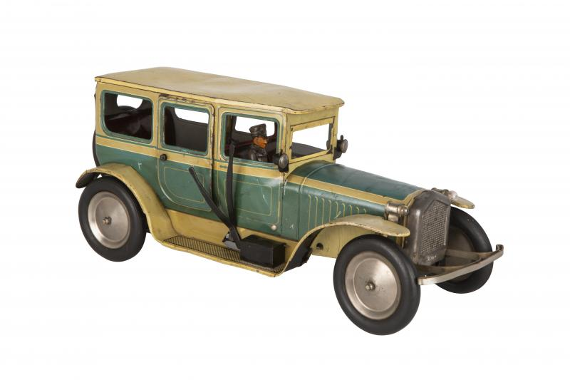 Museum of Slavonia, Toy Collection, Artistic Crafts Department, car toy Bing