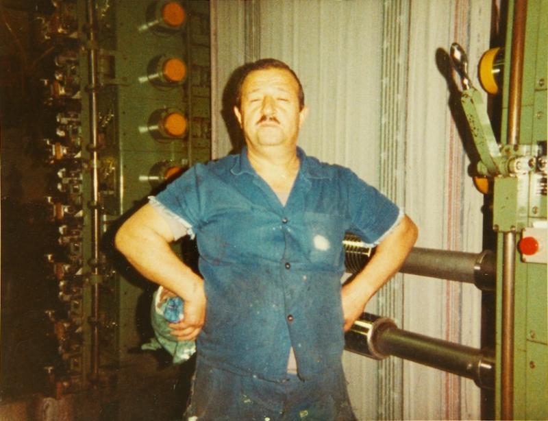 Mustafa G., textile worker in Dornbirn.